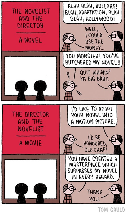 the director and the novelist
