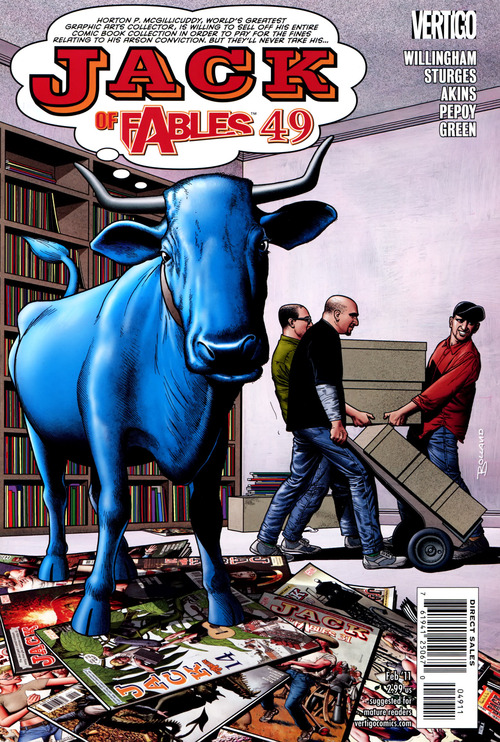 Jack Of Fables #49