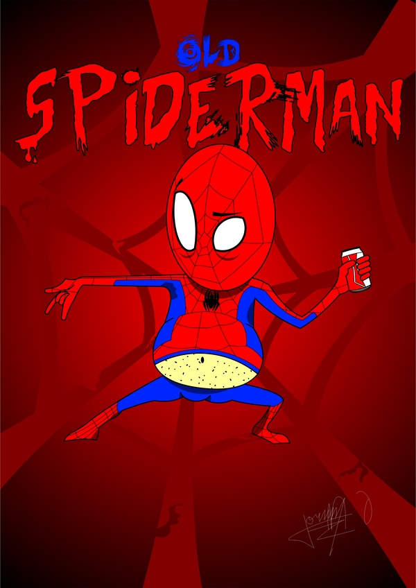 belly spidey