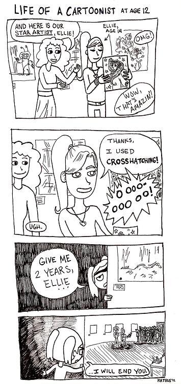 life of a cartoonist