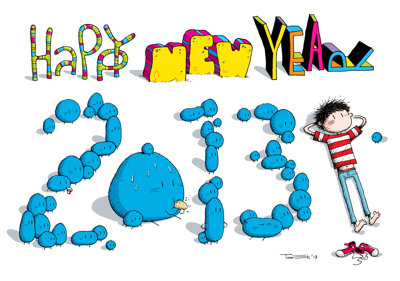 Tomek_Happy_New_Year_2013