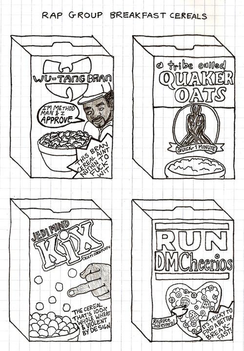 rap cereals