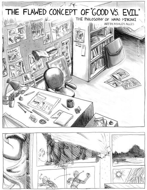 Philosophy of Miyazaki by sapphiresky1410