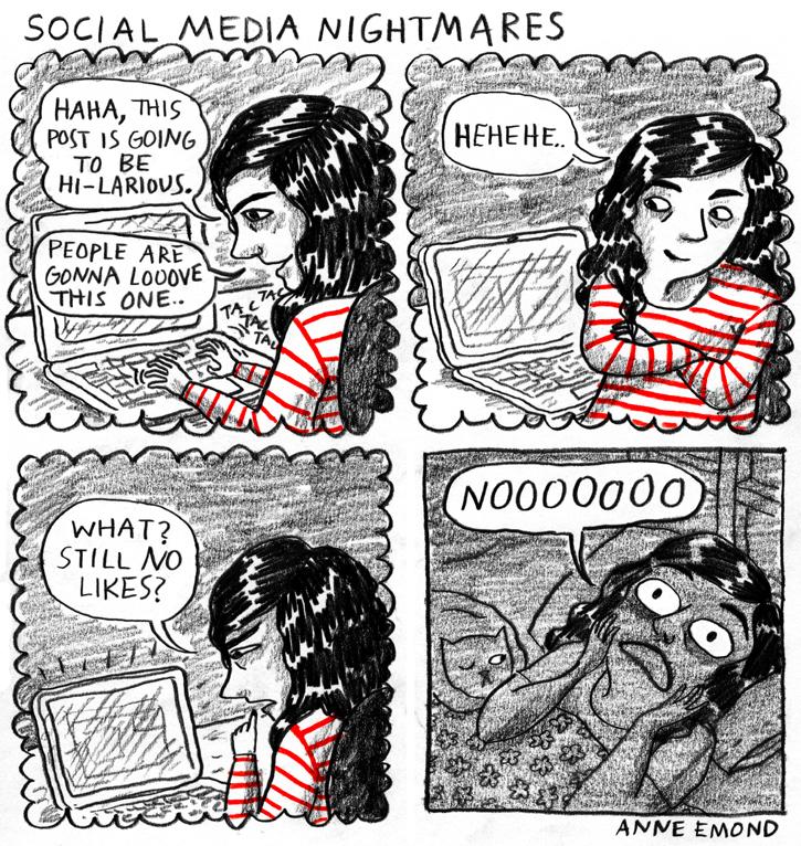 social media nightmares