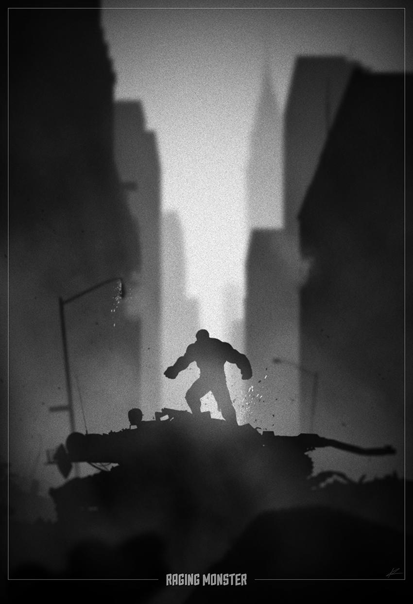 superheroes noir posters