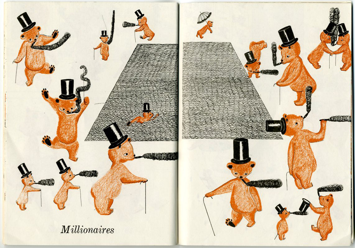 2 Bears by Ruth Krauss and Phyllis Rowland, 1948