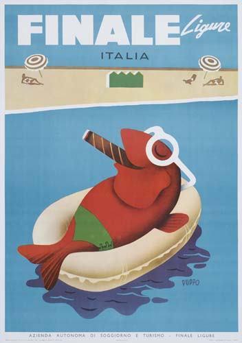 Mario-Puppo-Finale-Ligure-1954 la mar de tabaco