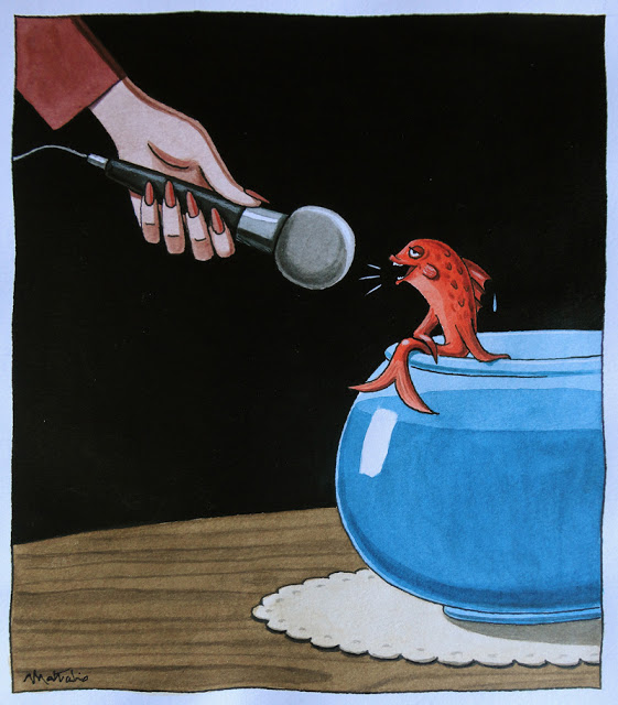 matticchio pesce che parla