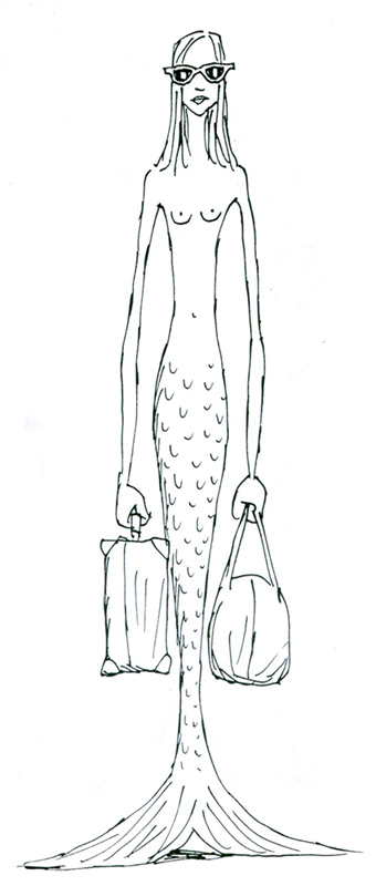 matticchio travelling mermaid
