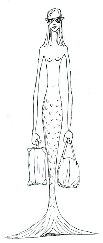 matticchio travelling mermaid