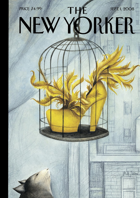 3 New-Yorker-Magazine-Cover Ana Juan