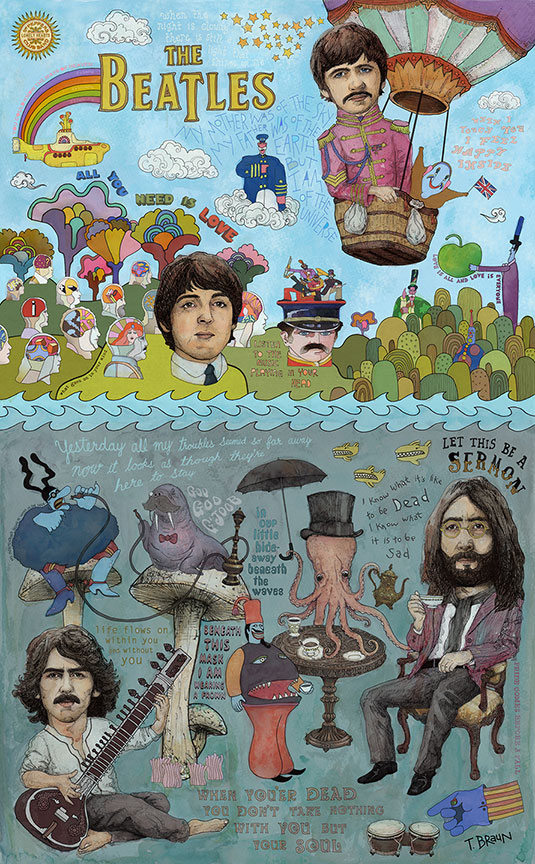 The-Beatles-Lonely-Hearts-Rubber-Soul-Magical-Yellow-Submarine-Tour