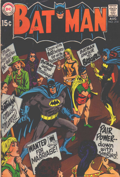 BATMAN—unfair to marriage!