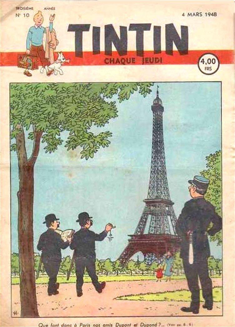 Les Dupondts a Paris, 1948