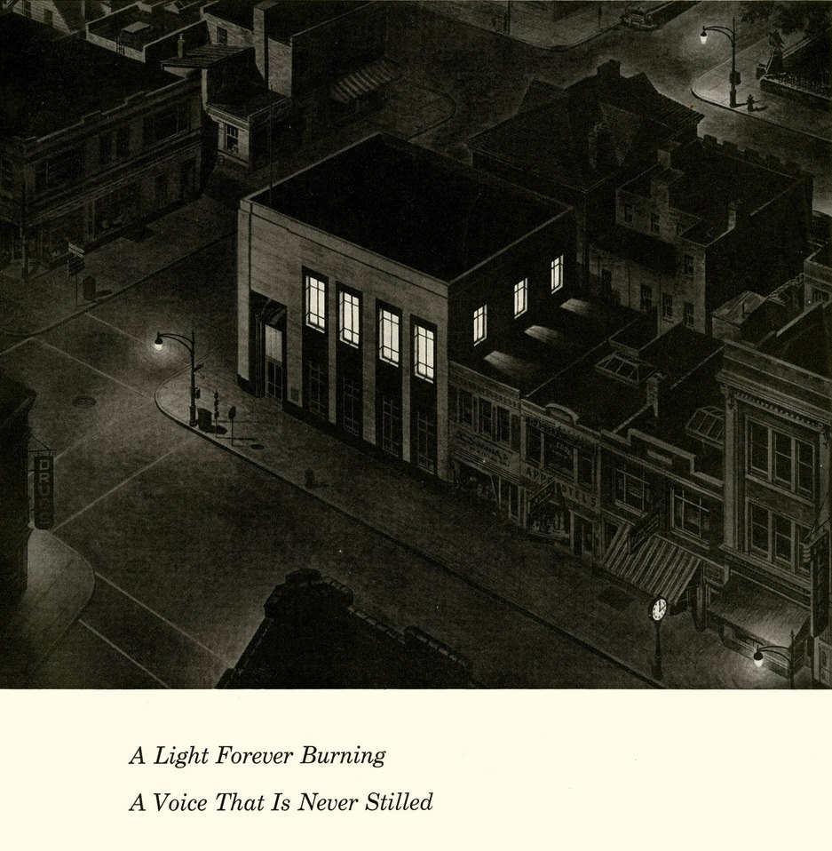 Two AM, Bell Telephone Exchange, 1954