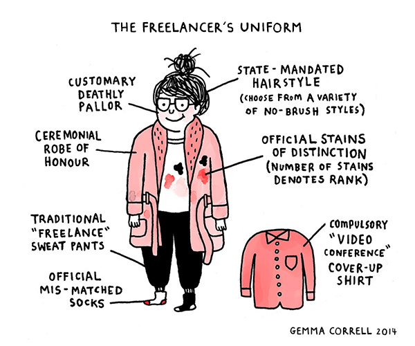 the freelancer's uniform