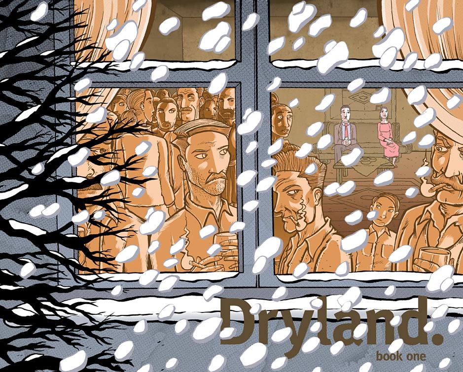 Dryland SoComic promo newsletter image