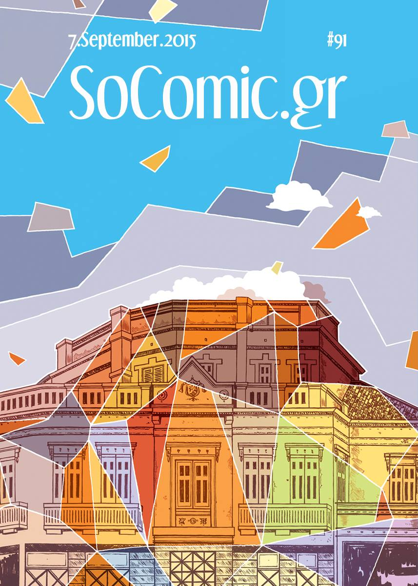 SoComic covers